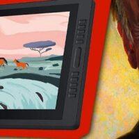 """Vidéo : Quelle est la meilleure tablette 24"""" ? Test de la Huion Kamvas Pro 24"""""""