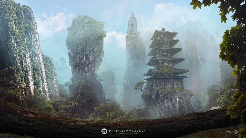 Desktopography 2020 : le retour des fonds d'écran sur la Nature