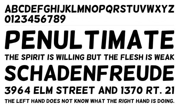 30 Typographies arrondies qu'il faut avoir