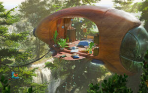 My dream home concept art