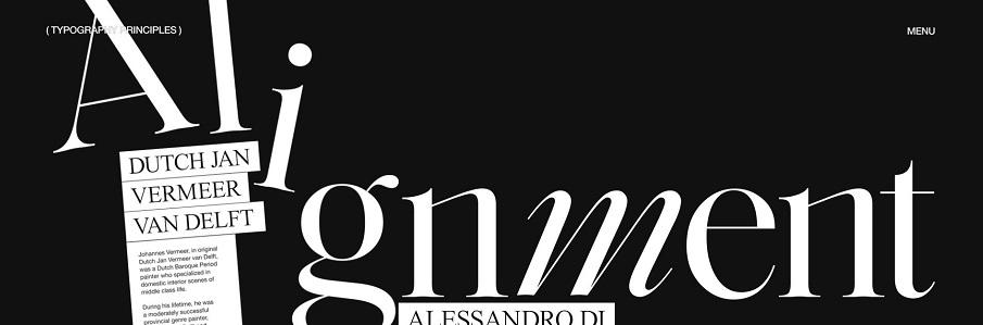 Comment bien utiliser la typographies ? Principes et conseils applicables