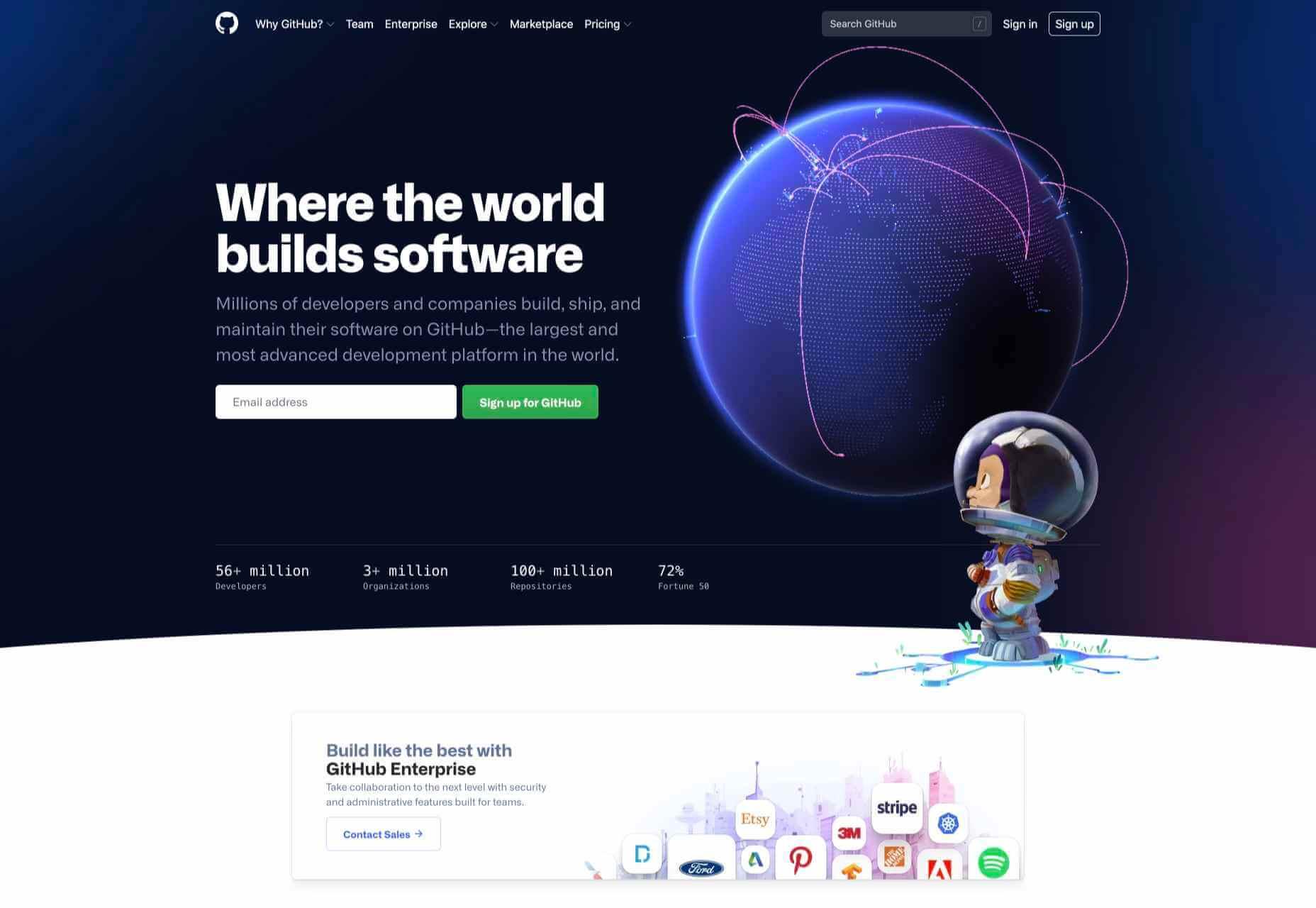 UI/UX design : 50 des Meilleurs Sites de 2020