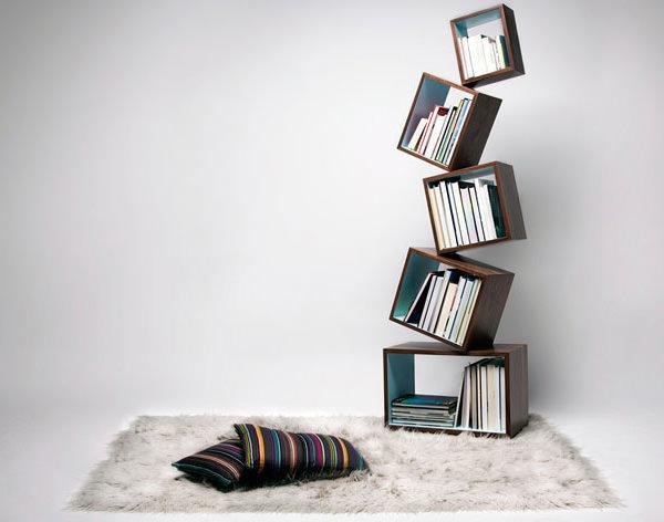 Créativité et inspiration : 25 étagères à livre originales